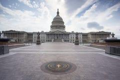 Le capitol des USA dans DC de Washington Image libre de droits