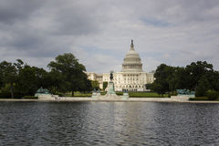 Le capitol des USA dans DC de Washington Photo libre de droits