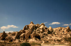 le cappadocia aménage la roche en parc Photos stock