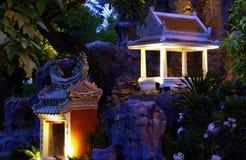 Le cappelle buddisti a Bangkok Fotografie Stock