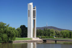 Le carillon national à Canberra, Australie photographie stock libre de droits