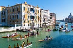 Le carnaval annuel a exécuté à Venise, Italie Photo stock