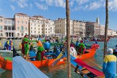 Le carnaval annuel a exécuté à Venise, Italie Photos libres de droits