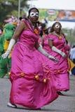Le carnaval annuel français le 7 février 2010 de la Guyane française Images stock