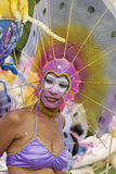 Le carnaval annuel français le 7 février 2010 de la Guyane française Image stock