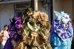 Le carnaval annuel français le 7 février 2010 de la Guyane française Photographie stock libre de droits