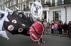 Le carnaval de Notting Hill à Londres occidentale, R-U Image libre de droits