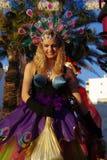 Le carnaval de Quarteira Photos libres de droits