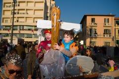 Le carnaval de Viareggio, édition 2019 photos libres de droits