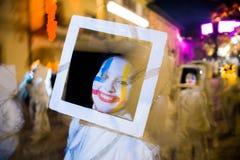Le carnaval de Viareggio, édition 2019 images stock