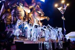 Le carnaval de Viareggio, édition 2019 image stock