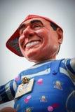 Le carnaval de Viareggio sur la Toscane Italie Image stock