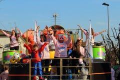 Le carnaval des enfants Images stock