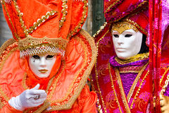 le carnaval masque Venise Photo stock