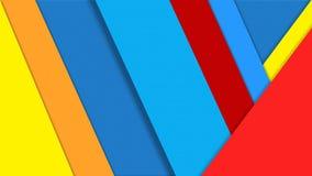 Le carte astratte di colore strutturano per fondo geometrico illustrazione vettoriale