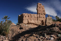 le casbah ruine le skoura Images libres de droits