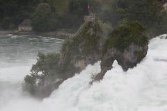 Le cascate del Reno. Fotografie Stock
