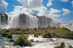 Le cascate di Iguazu Fotografie Stock