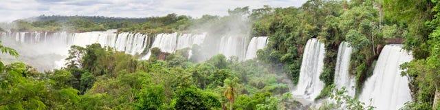 Le cascate di Iguazu Fotografia Stock Libera da Diritti