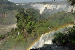 Le cascate di Iguazu, Argentina Fotografia Stock
