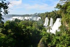 Le cascate di Iguazu belle in Argentina Sudamerica fotografie stock