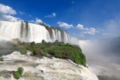 Le cascate di Iguazu Fotografia Stock