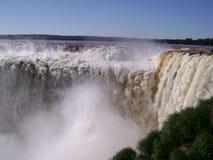 Le cascate di Iguazu - l'Argentina immagine stock