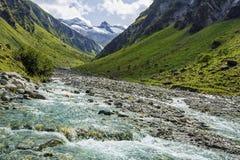 Le cascate di Krimml Immagini Stock Libere da Diritti
