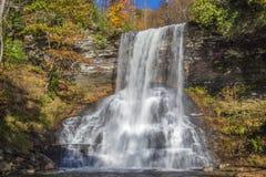 Le cascate, Giles County, la Virginia, U.S.A. fotografia stock libera da diritti