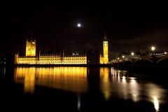 Le case del Parlamento Fotografia Stock