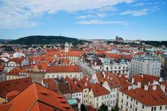 Le case di Praga Immagini Stock Libere da Diritti