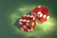 Le casino battu meurent Images libres de droits