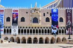 Le casino vénitien d'hôtel de ressource à Las Vegas Images libres de droits