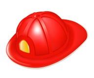 Le casque du sapeur-pompier Photos libres de droits