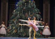 Le casse-noix de ballet du danse-tableau 3-The de prince et de Clara Images libres de droits