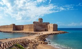 Le Castella. From Calabria-Italy Royalty Free Stock Photos