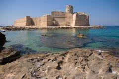 Le Castella Calabria Foto de Stock