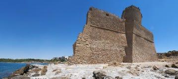 Le Castella, Isola di Capo Rizzuto, Crotone, Calabria, sydliga Italien, Italien, Europa Royaltyfri Foto