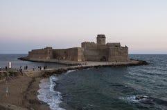 Le Castella od Włochy Fotografia Royalty Free