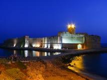 Le Castella w Calabria Zdjęcia Royalty Free