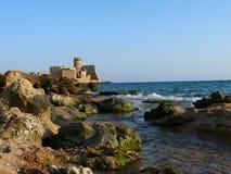 Le Castella w Calabria Zdjęcia Stock