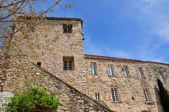 Le Castellet,法国- 2016年4月20日:美丽如画的村庄 库存照片