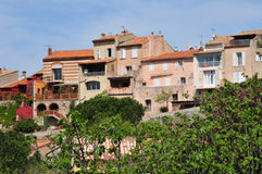 Le Castellet, France - april 20 2016 : the picturesque village Stock Images