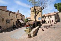Le Castellet, France - april 20 2016 : the picturesque village Stock Photo