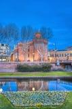 Le Castillet en Perpignan Fotografía de archivo libre de regalías