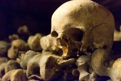 Le catacombe di Parigi Immagini Stock Libere da Diritti