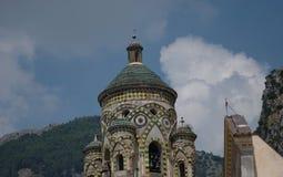 Le catredal d'Amalfi Image libre de droits