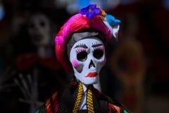 Le catrina est une tradition mexicaine photographie stock libre de droits