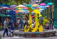 Le Caudan Strand port Louis Mauritius Royaltyfri Foto