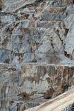 Le cave del marmo - alpi di Apuan, Carrara, Fotografie Stock
